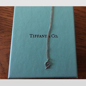 T &co. Loving heart necklace by Paloma Picasso